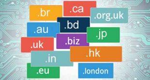 پسوند اینترنتی کشورهای جهان
